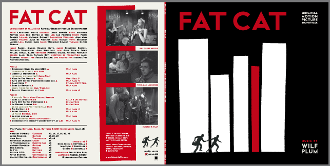 Fat Cat LP Sleeve